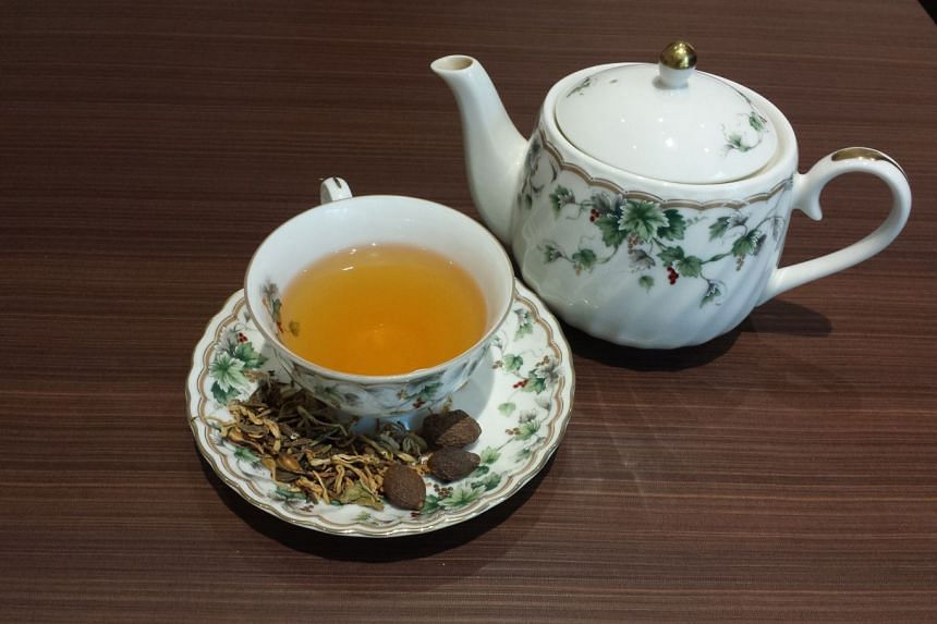 Hot tea is a good accompaniment to meals. PHOTO: ST FILE