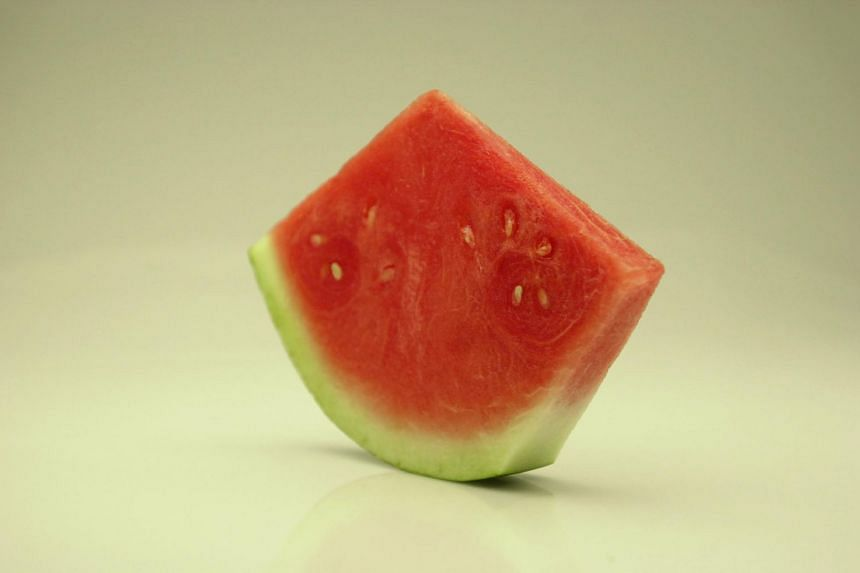 A slice of watermelon. PHOTO: ST FILE