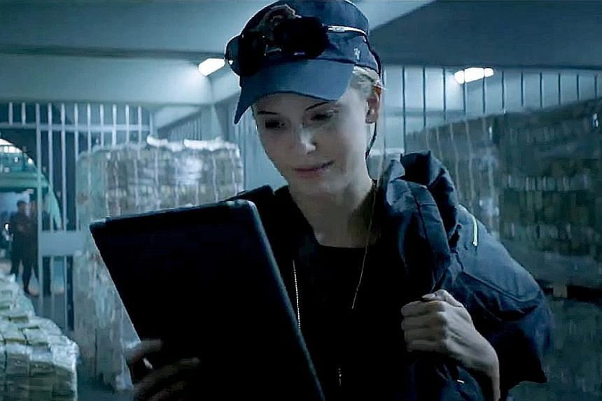 The Hurricane Heist, which stars Maggie Grace (left), is directed by Rob Cohen (above), creator of the Fast And Furious franchise.