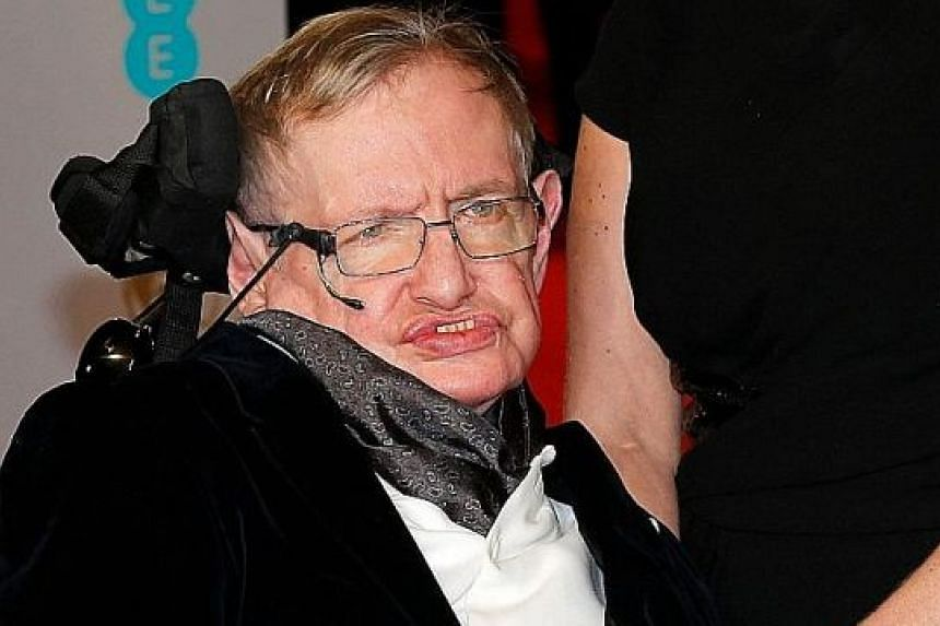 Wonder Woman star Gal Gadot (left) had tweeted that physicist Stephen Hawking (above), who suffered from a motor-neuron disease and died last Wednesday, is now free of physical constraints.