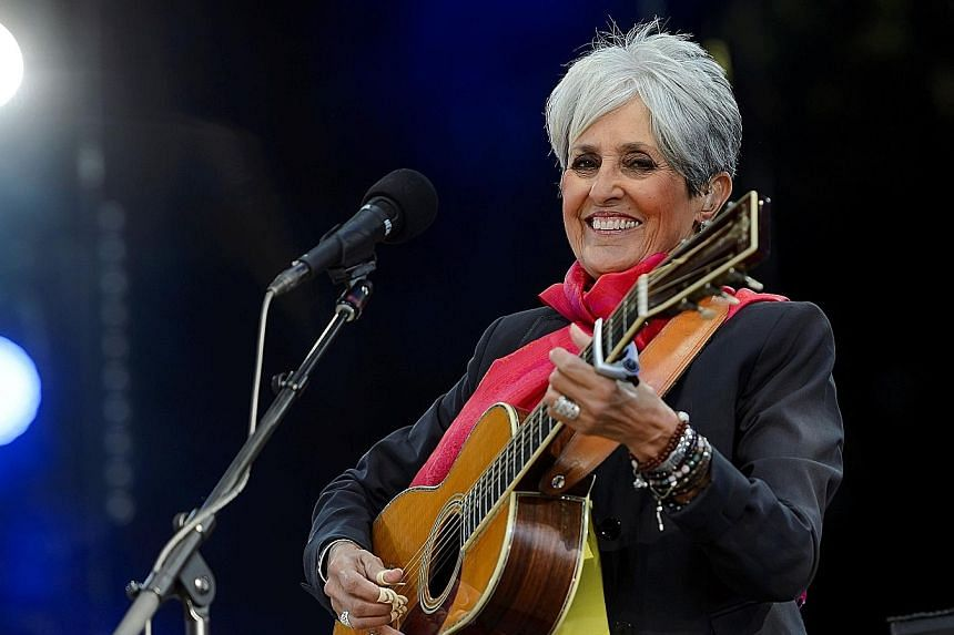 Singer Joan Baez's eight-month world tour that kicked off in Sweden this month will mark her farewell to the road.