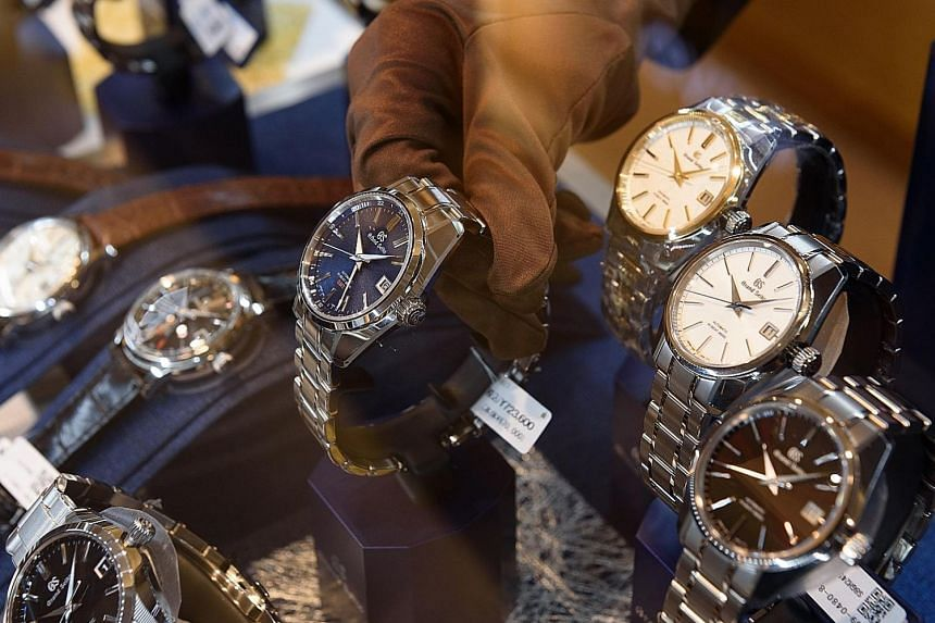 Seiko makes fewer than 100,000 Grand Seiko watches a year, with a main price range of US$5,000 (S$6,600) to US$15,000.