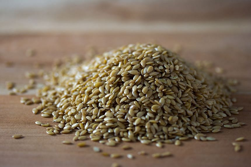 Golden flax seeds. PHOTO: WIKICOMMONS