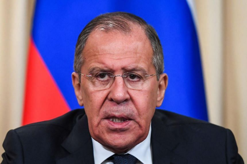Russian foreign minister Sergei Lavrov (pictured), a notoriously hard negotiating diplomat, has long been part of President Vladimir Putin's inner circle.