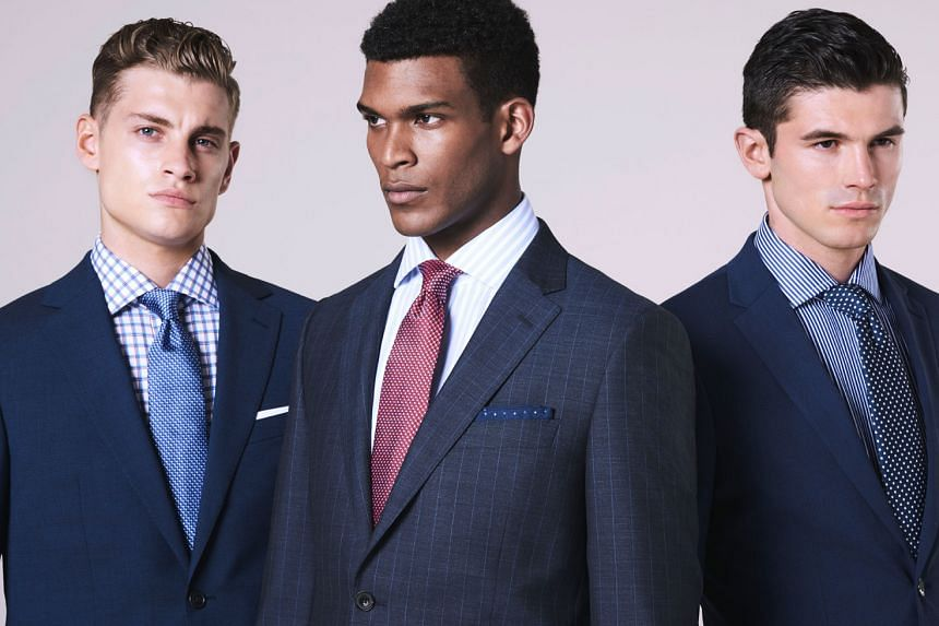 Look sharp and professional in suits from Marks & Spencer. PHOTOS: MARKS & SPENCER