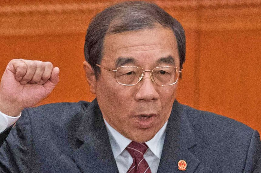 Supervision Minister Yang Xiaodu will be the first director of the National Supervision Commission.