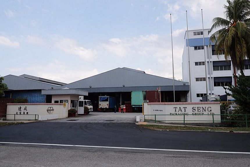 Investigations revealed that Tat Seng Packaging Group had discharged black and turbid industrial used water into the public sewerage system, said a PUB statement.