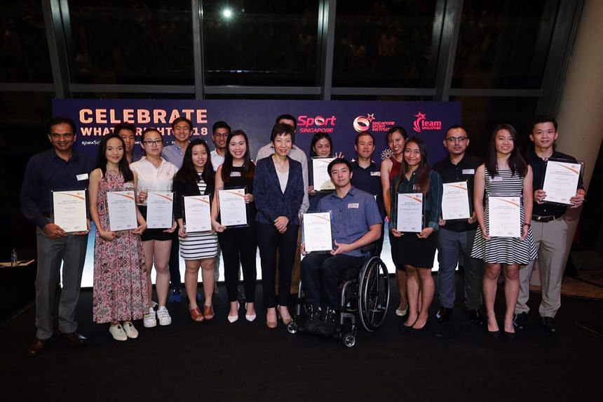 """The Singapore Sport Institute unveiled the fifth cohort of spexScholars with 17 new scholars at the """"Celebrate What's Right"""" networking event."""