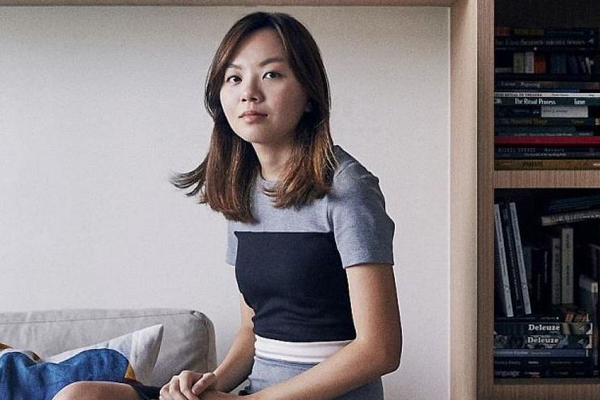 A Good Death is written by playwright Faith Ng (above), directed by Chen Yingxuan (top) and stars Karen Tan (main picture).