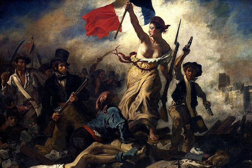 Social media giant Facebook had initially taken down an advertisement depicting French artist Eugene Delacroix's famous work, Liberty Leading The People, which features a bare-breasted woman.