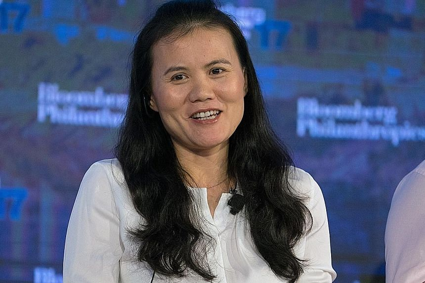 Ms Lucy Peng, one of Alibaba's 18 co-founders and current chairman of Lazada, will take over as CEO of Lazada. Employees at online retailer Lazada filling orders at the company's warehouse in Jakarta. In 2016, Alibaba acquired control of Lazada with