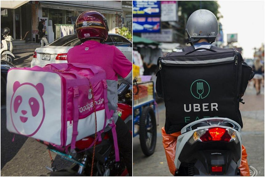 Foodpanda, Line Corp's Line Man and Uber Technologies' Uber Eats are using promotions, such as free delivery or discounts, to woo customers.