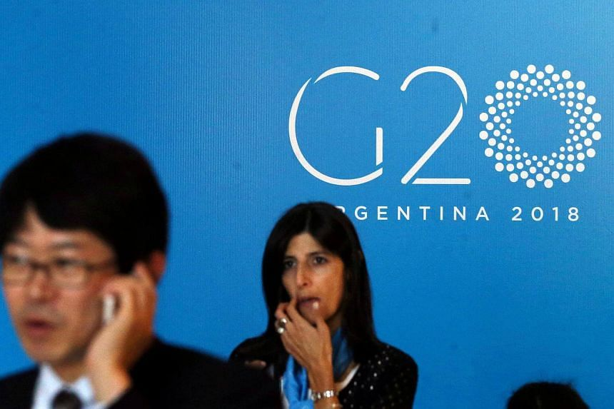 The G-20 meeting in Buenos Aires comes days before US tariffs on steel and aluminum are due to come into force for all countries except Canada and Mexico.