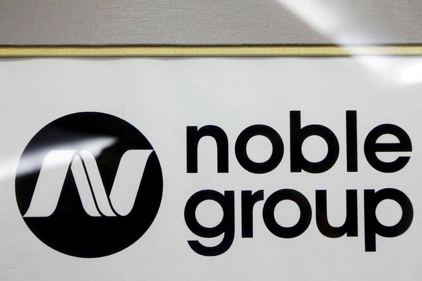 As at 9.02am on March 20, 2018, Noble shares were down 11.7 per cent, or 1.3 Singapore cents, to 9.8 Singapore cents apiece.