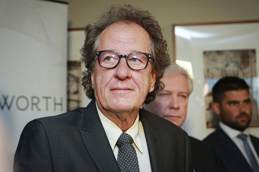 Geoffrey Rush has stepped down as president of the Australian Academy of Cinema and Television until the matter is resolved.