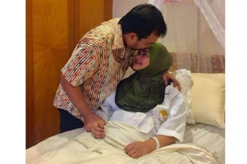 Singer Siti Nurhaliza and her husband Datuk Seri Mohamad Khalid Jiwa. According to an Instagram post, the baby, weighing 3.55kg, was delivered by caesarean section at 8.17am on March 19.