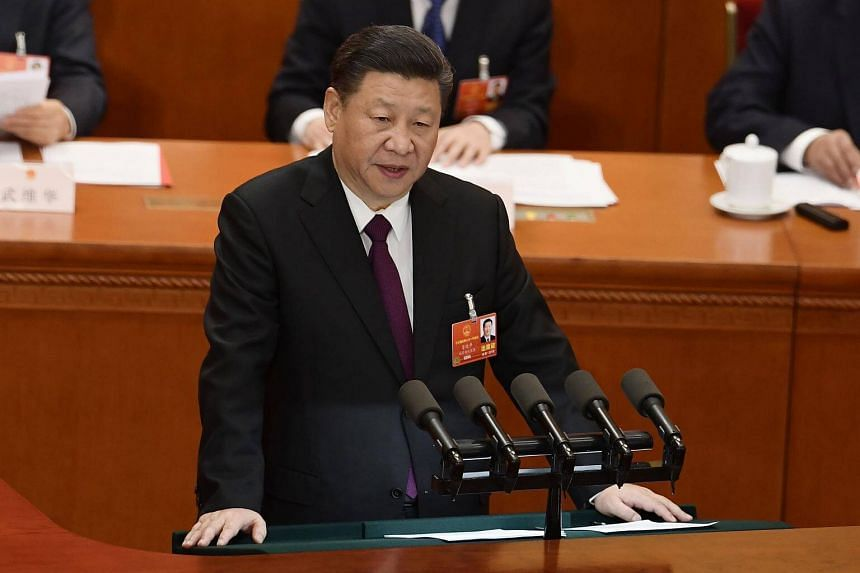 Chinese President Xi Jinping expressed his heartfelt gratitude to the trust placed on him by all deputies and Chinese people of all ethnic groups.