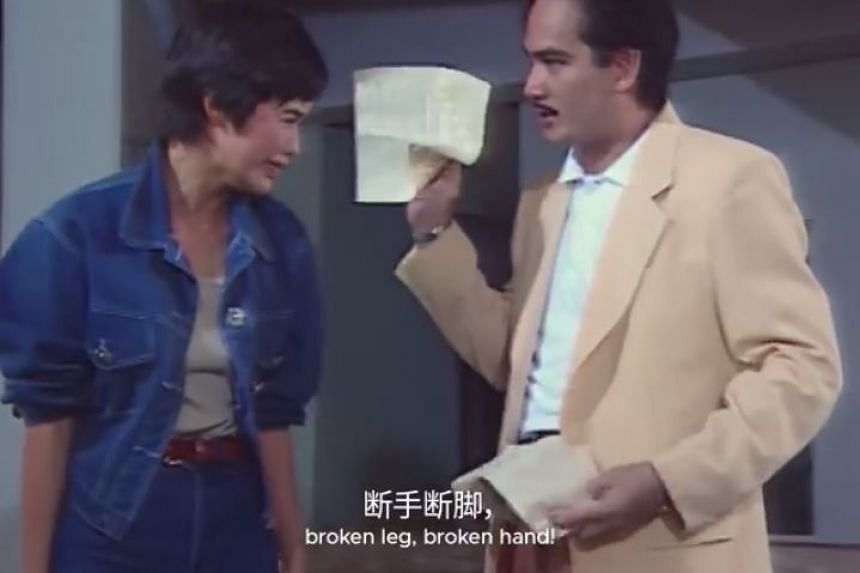 Posted on March 13 on Facebook by the Singapore Tourism Board (STB), the cleverly redubbed clip from the 1993 Singapore Broadcasting Corporation show about gamblers has since gone viral, with more than 3,400 likes, 2,200 shares and 330,000 views.