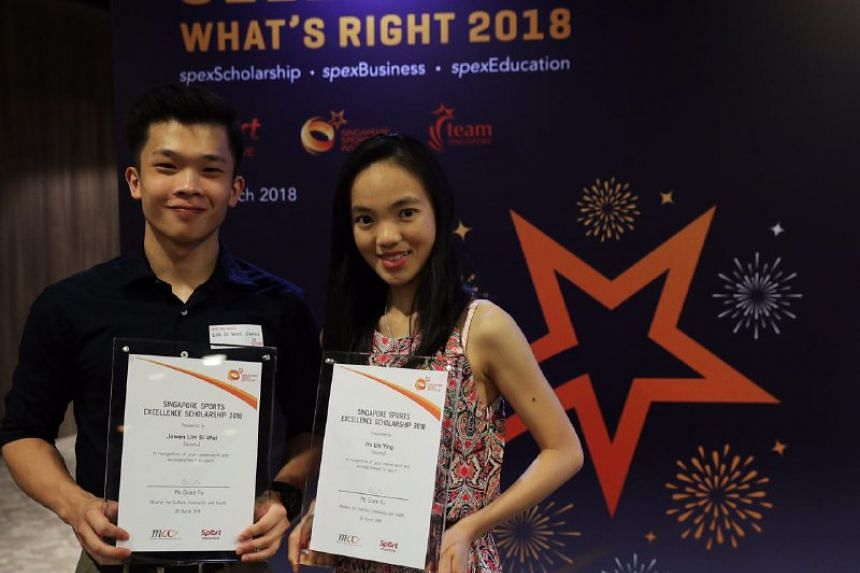 Wushu's Jowen Lim and Ho Lin Ying are the first athletes from their sport to be included in the programme.