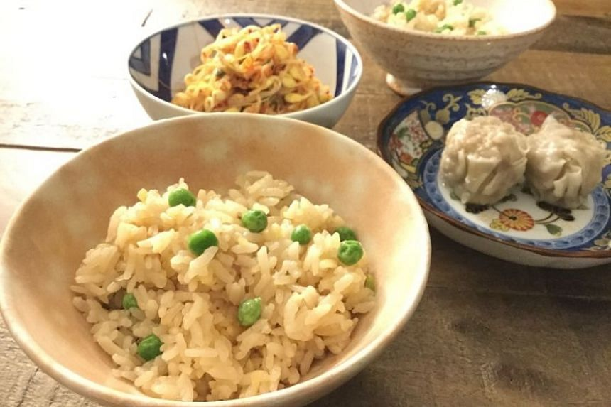Shoga-gohan ginger rice will become one of your favourite dishes if you are a fan of ginger.
