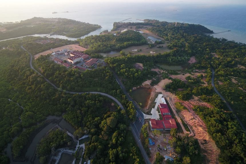 The 100ha Nongsa Digital Park, slightly larger than Singapore's Botanic Gardens, is Batam's first large-scale commercial project.