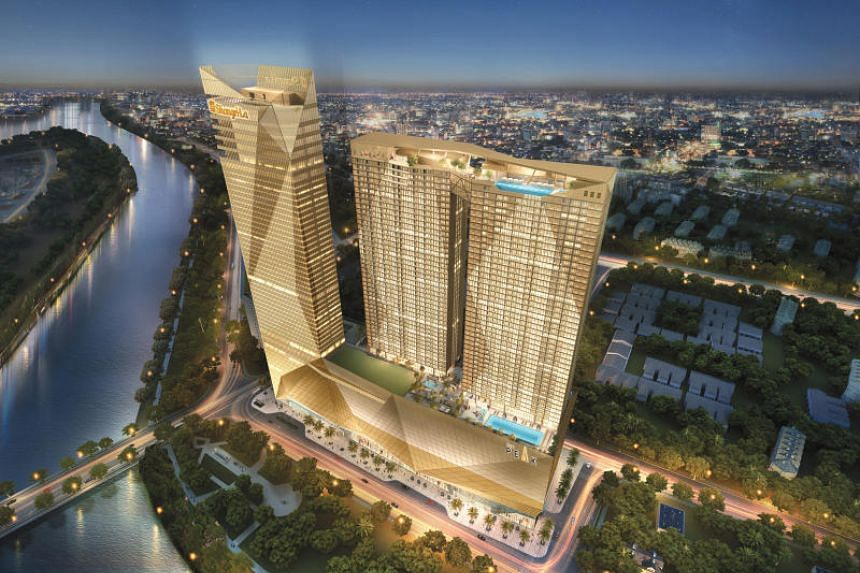 An artist's impression of The Peak, a 55-storey integrated development which houses an office tower, the country's first Shangri-La Hotel, two luxury residential towers and the mall, which will open in 2020.