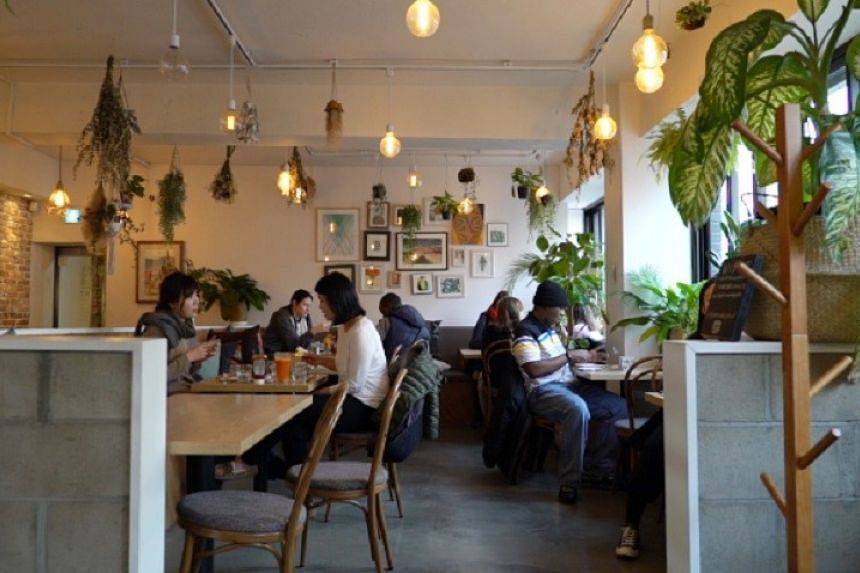 Plant is a 100 per cent plant-based vegan restaurant in Itaewon, Seoul.