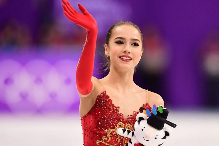 Alina Zagitova (above) and German pairs skaters Aliona Savchenko and Bruno Massot are the only winners from Pyeongchang competing in the post-Olympic world championships.