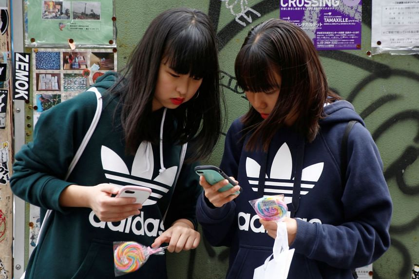 While blurry vision is prevalent among elderly people, it is now affecting more young people in Japan, as they spend more time looking at their smartphone.