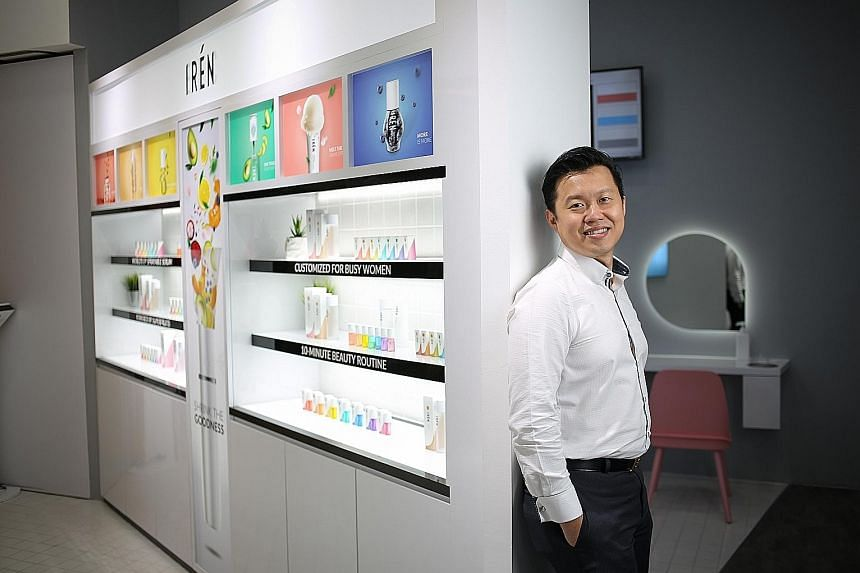 Ikeda chief executive Eric Tan left a bank job to focus on the spa business. From 2012 to 2015, Ikeda's revenue grew 53 per cent. Now, skincare is expected to bring in more revenue than its spa business, and the company has plans to expand overseas.