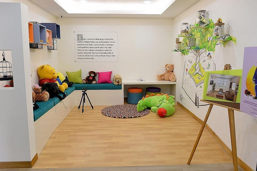 Safe Space, which is run by family specialist centre Pave, helps children under 16 who are victims or witnesses of domestic violence. Children are referred there by the MSF's Child Protective Service, the Family Justice Courts, as well as by relative