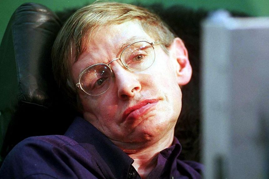 Hawking (above) spent a lifetime probing the origins of the universe, the mysteries of black holes and the nature of time itself.