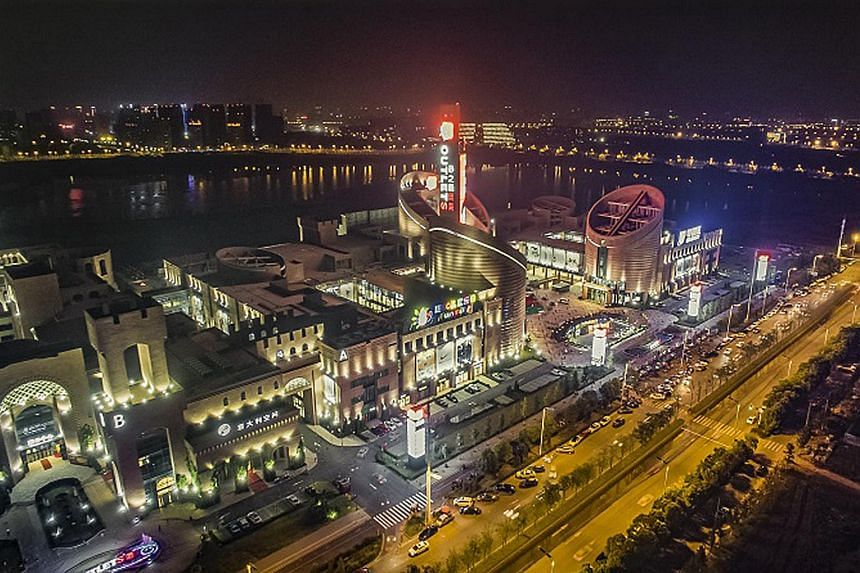 Sasseur (Hefei) Outlets (pictured)is one of the four properties featured in Sasseur Reit's IPO.