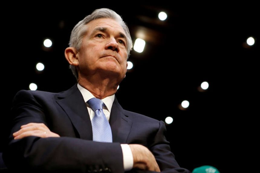 New Fed chairman Jerome Powell will address the news media for the first time in a quarterly press conference after Wednesday's rate announcement.