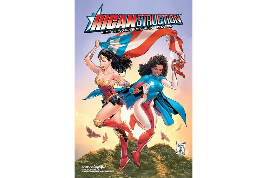 Six months after the devastating hurricane Maria that tore apart Puerto Rico, a new comic that has been contributed by famous people like Ruben Blades combines the superpowers of La Borinqueña, Batman or Wonder Woman to rebuild the island.