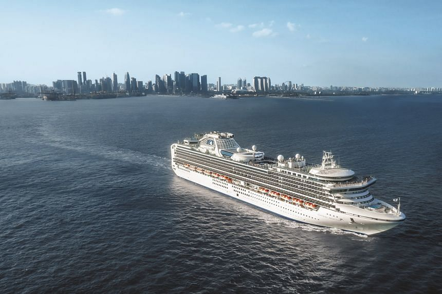 The Sapphire Princess will be making its inaugural 38-day journey from Singapore to Southampton in England, as it relocates to Europe for the upcoming summer. PHOTO: PRINCESS CRUISES