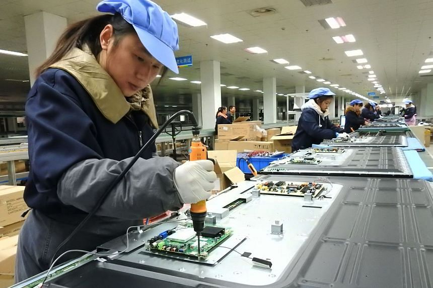 China has seen exports soar, up 45 per cent in February to mark their fastest growth in three years.
