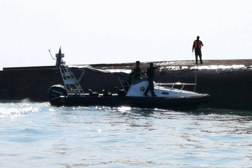 Two patrol boats were deployed for the search and rescue operations after authorities received reports of the capsizing.