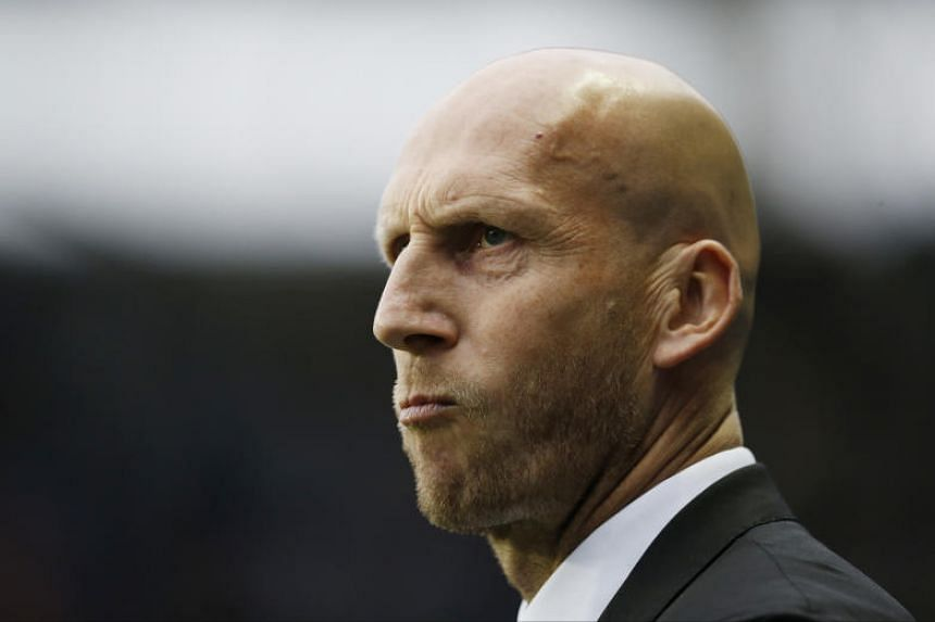 Reading manager Jaap Stam in The Madejski Stadium on May 16, 2017.