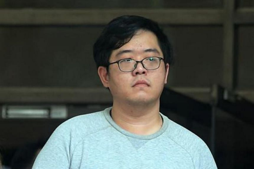 Ron Lim De Mai, 26, was jailed for three years, with four strokes of the cane, on March 21, 2018.