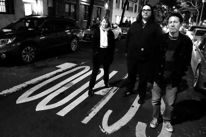 Indie rock band Yo La Tengo comprise (from far left) Georgia Hubley, James McNew and Ira Kaplan.