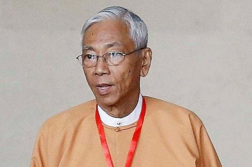 Mr Htin Kyaw, Myanmar's incumbent president, resigned yesterday amid rumours about his health. He had undergone an operation recently.