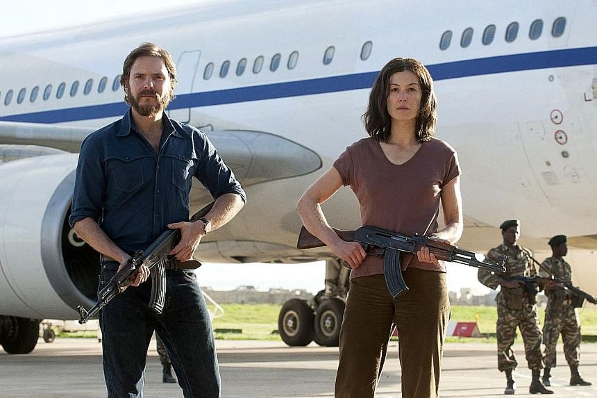 Daniel Bruhl and Rosamund Pike play German left-wing revolutionaries in 7 Days In Entebbe.