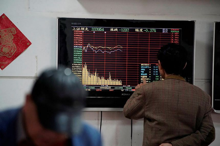 Hong Kong's Hang Seng Index was 0.52 per cent down, while Japan's Nikkei 225 was up 0.44 per cent.