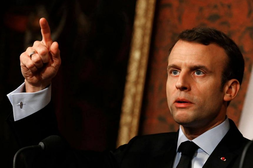 The walk-outs and demonstrations are the latest test of strength for the French President Emmanuel Macron as he pushes ahead with a new phase of his agenda.