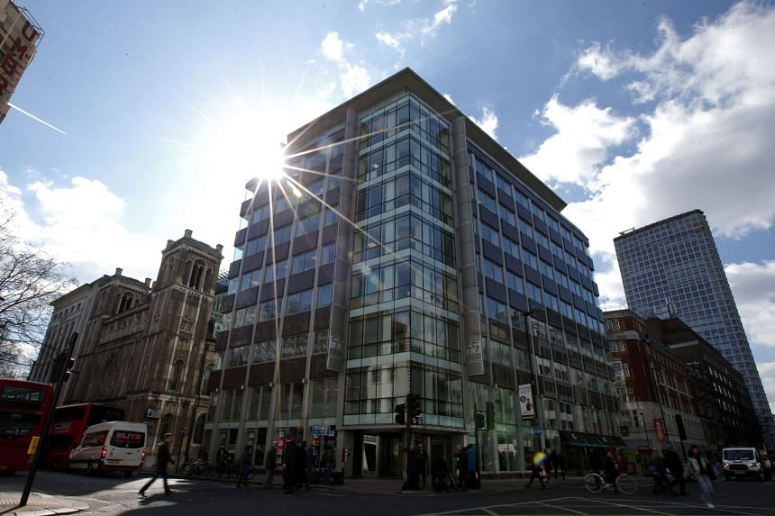 The shared building which houses the offices of Cambridge Analytica in central London.
