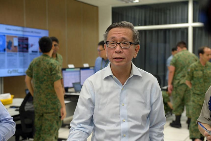 Singapore offers a test bed for innovative cyber security solutions in a relatively controlled environment, said Mr David Koh, Singapore's Commissioner of Cybersecurity and Chief Executive of the Cyber Security Agency on March 21, 2018.