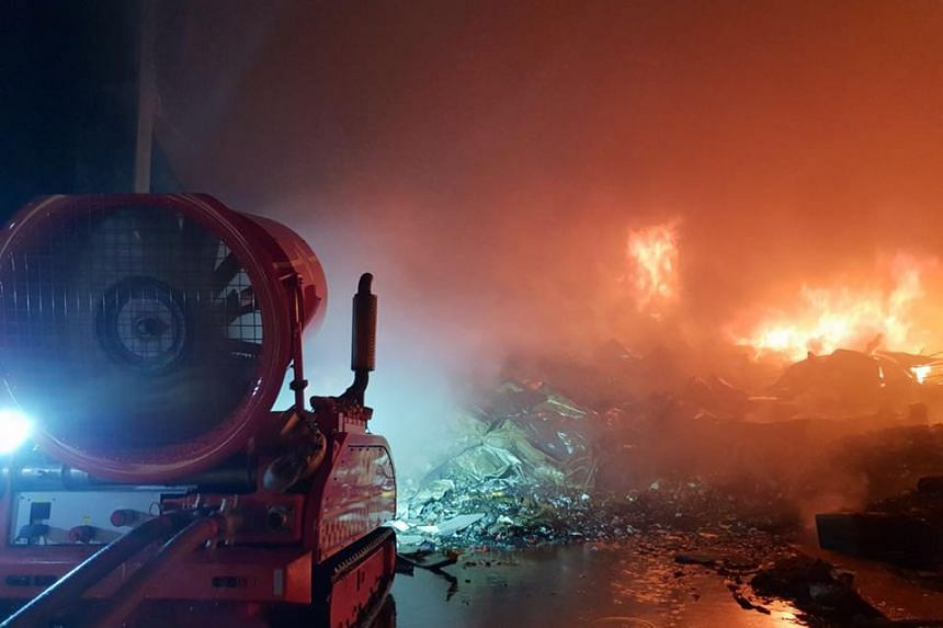 The SCDF deployed 22 firefighting appliances and vehicles and about 70 personnel to combat the fire.