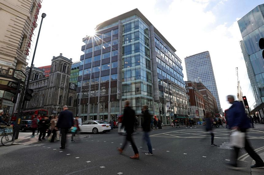 Cambridge Analytica's London office is based on New Oxford Street, one of Britain's main shopping streets in the centre of the capital.