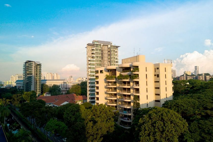 The 10-storey freehold Makeway View in District 9 was built in the late 1980s, on a 41,582 sq ft plot with an allowable gross plot ratio of 2.8.